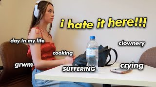 FIRST DAY OF COLLEGE VLOG 😔*every year i suffer more!!!!*