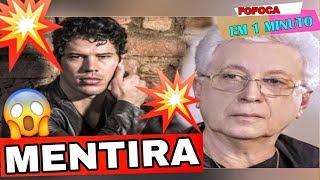 🔥💣AUTOR Aguinaldo Silva DESMENTE boatos que JOSÉ LORETO deixará a NOVELA | Fofoca em 1 Minuto