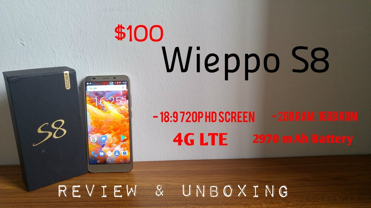 WIEPPO S8 Smartphone - 18:9 HD Screen, 2GB RAM, 16GB ROM Review & Unboxing