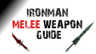 RS3 Ironman Melee Weapons Guide & Tips [Runescape 2015]