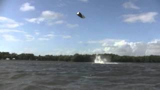 Kiteboarding Matheson Hammock December 2011