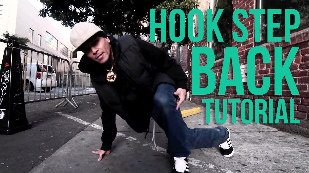 How to Breakdance   Hook Step Back   Profo Won (Floor Gangz, San Francisco)
