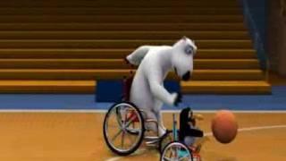El oso Berni - 1x44 - Baloncesto Silla de ruedas