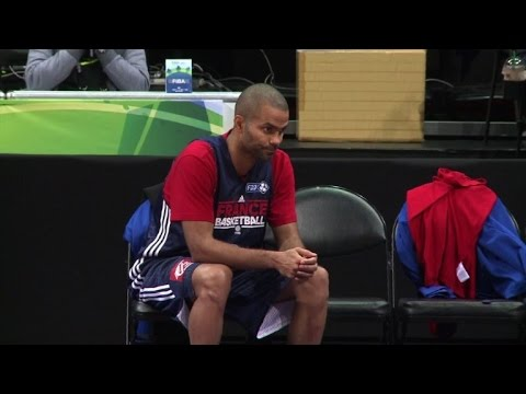 French basketball team sets sights on Olympic podium