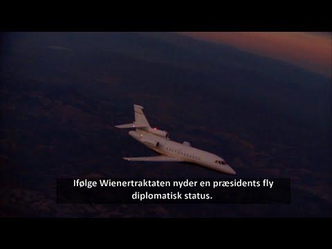 Flygtede Snowden i præsident Morales fly?