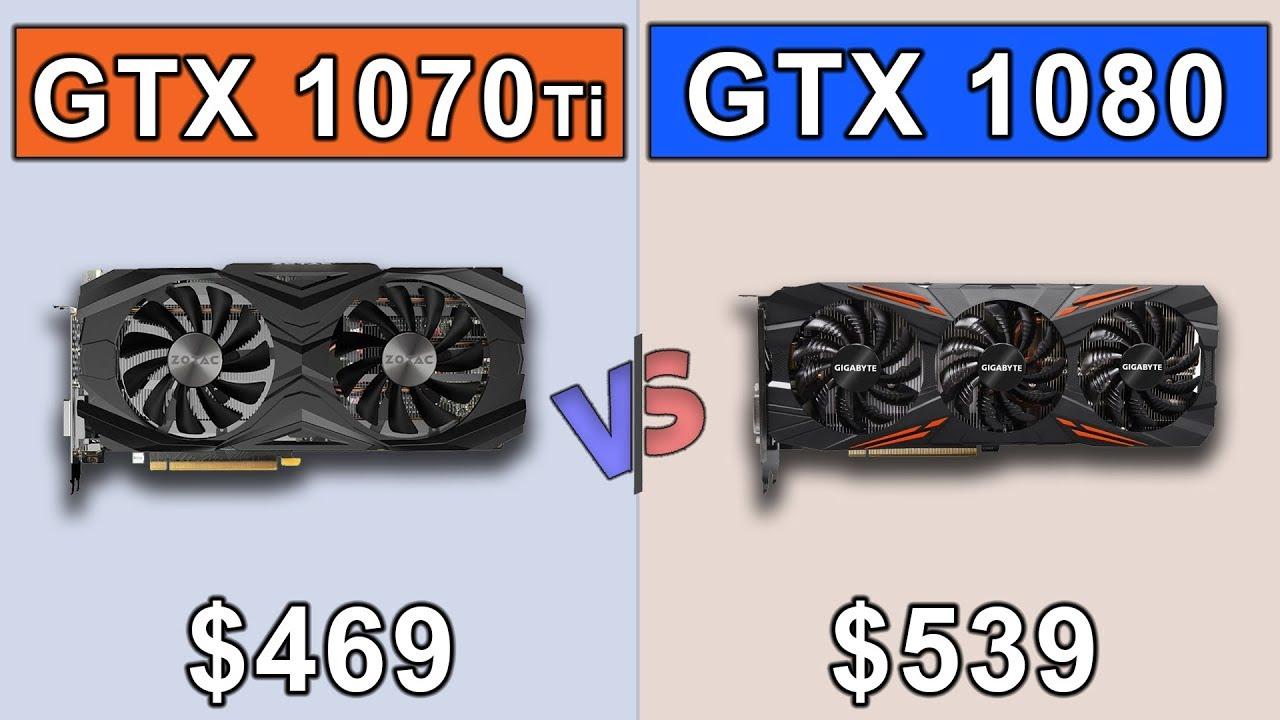 gtx 1070 ti vs gtx 1080 g1 gaming