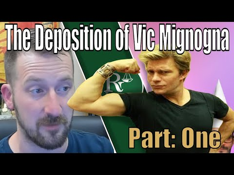 The Deposition of Vic Mignogna - Part 1