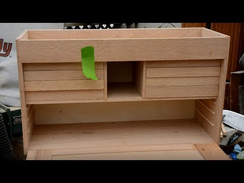 Gerstner style wood tool chest built part 5, drawers