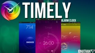 Timely para Android: Innovadora alarma para despertar