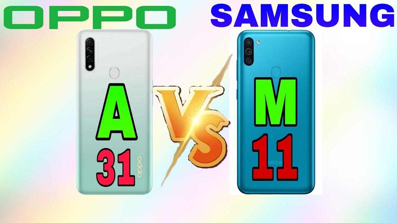 SAMSUNG M11 VS OPPO A31😋||Full Comparison||LETEST video ...
