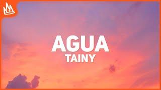 Tainy, J Balvin - Agua (Letra / Lyrics)