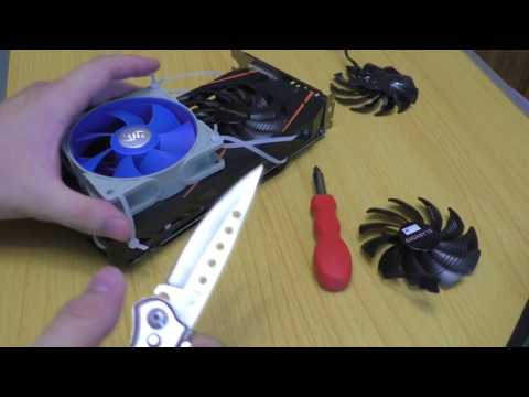 Как заменить вентилятор на видеокарте