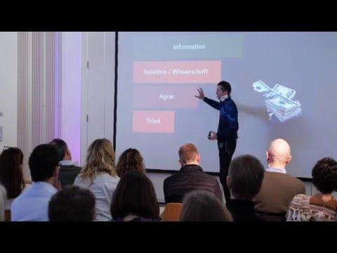 Frederic Laloux beim Lernforum Großgruppenarbeit 2016 in Oberursel (auf Deutsch)