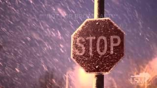 11-20-15 Omaha, Nebraska Evening Snowfall