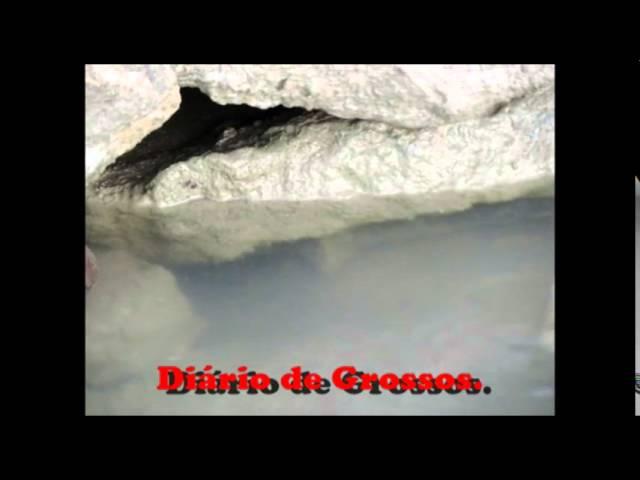 Grossense mostra como pegar uma moreia.