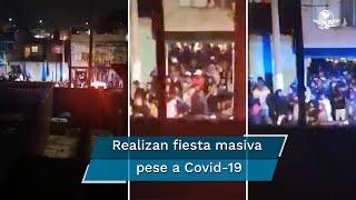 Desalojan fiesta con más de 200 invitados en Chimalhuacán