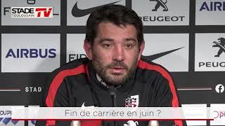 Stade - MHR : Interview de Florian Fritz