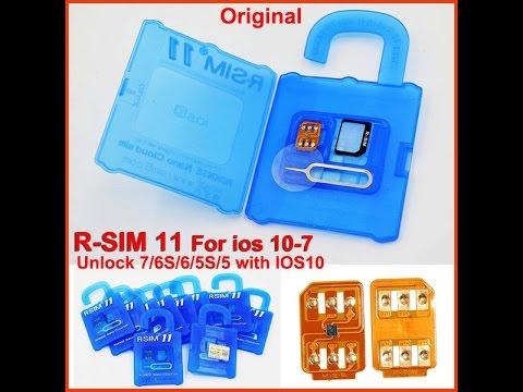 Активация IPhone 6 на IOS 10.3.1 через R-SIM 11