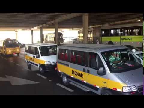 Vans também protestam contra falta de combustível em BH