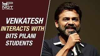 Venkatesh Heartfelt Interaction with BITS Pilani Students | Exclusive Interview | Guru Telugu Movie