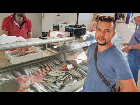 Черногория еда и питание 2019: Где и Как купить рыбу и морепродукты в Черногории