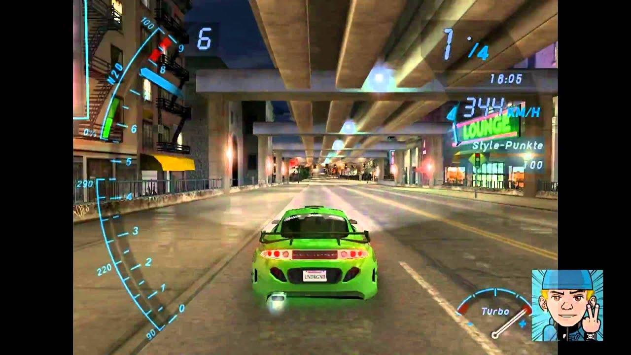 Need For Speed Underground 1 Drag 023 Mitsubishi Eclipse