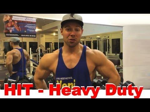 HIT - Mehr Muskeln durch weniger Training