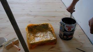 видео Лак для пола из сосновой доски: полиуретановый для деревянного пола Тиккурила
