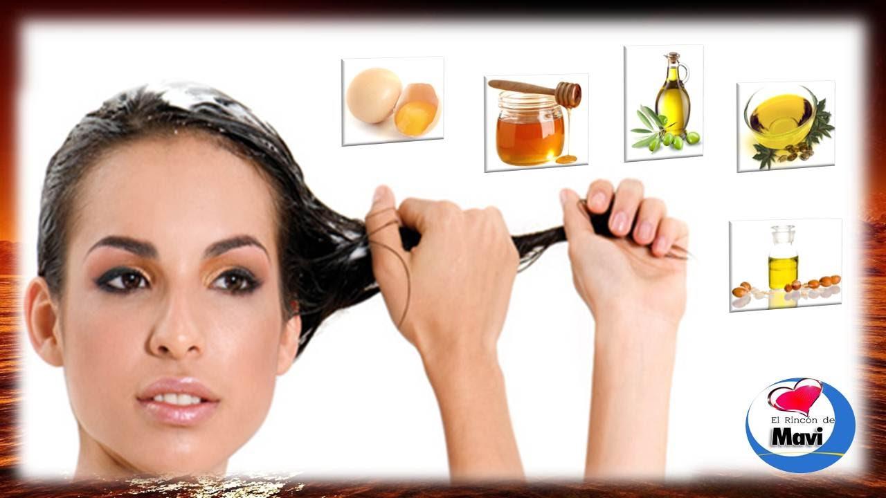 Mascarilla casera para el cabello seco, maltratado y sin brillo , YouTube