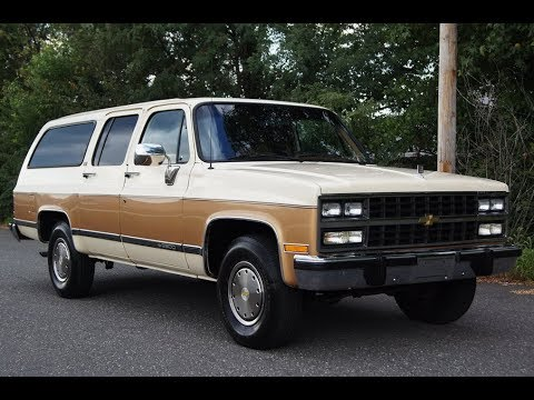 1991 chevy suburban