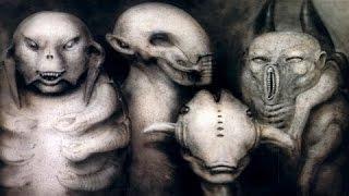 Секретные территории. Существа Подземного Мира