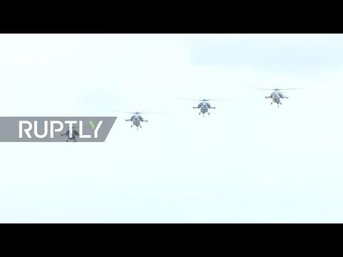 LIVE: Russian aerobatic team celebrates 25th anniversary with aviation show