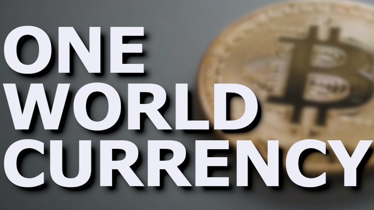 Are bitcoins the one world currency sports betting gambling addiction