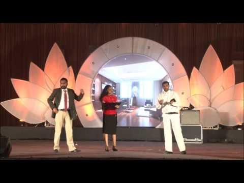 ellucian family event - Why katappa killed bahubali skit