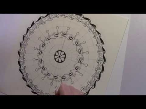 Modulo Art Circular Grid No Design