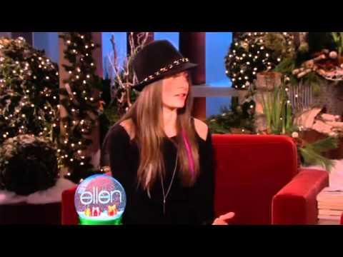 The Ellen ShowEllen Talks to Paris Jackson About Growing Up