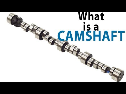 What is a camshaft? Quick, simple definition with animation.