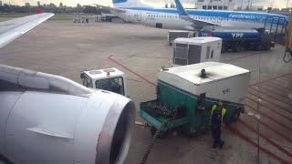 AIRSTART of IAE engine with Air Starter Unit (ASU) - Airbus A320