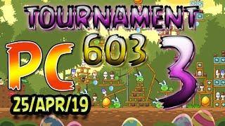 Angry Birds Friends Level 3 PC Tournament 603 Highscore POWER-UP walkthrough #AngryBirds