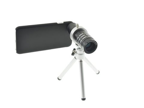 Iphone telephoto lens zoom lens telescope lens review