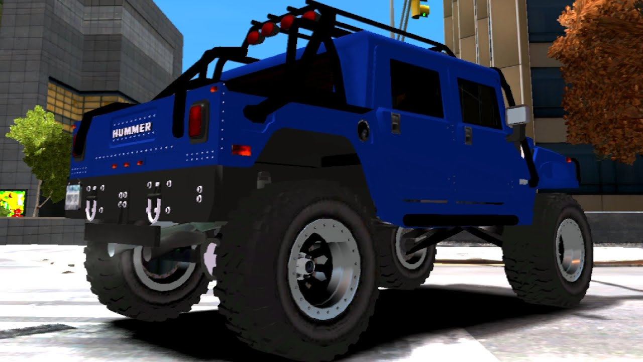 479 Hummer H1 4x4 fRoad Truck V2