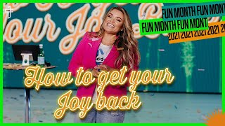 How To Get Your Joy Back // Have You Been Robbed? // Fun Month // Bianca Olthoff