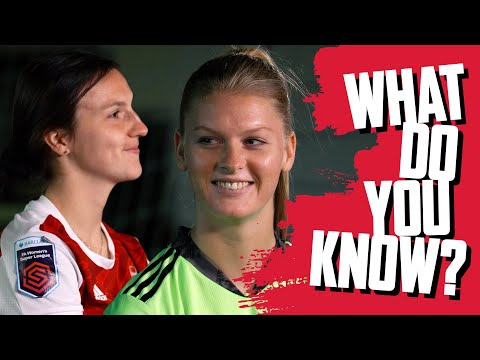 'The loser buys the coffee!' | Lotte Wubben-Moy vs Fran Stenson | What Do You Know?