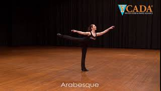YCADA Dance - Glossary - Arabesque