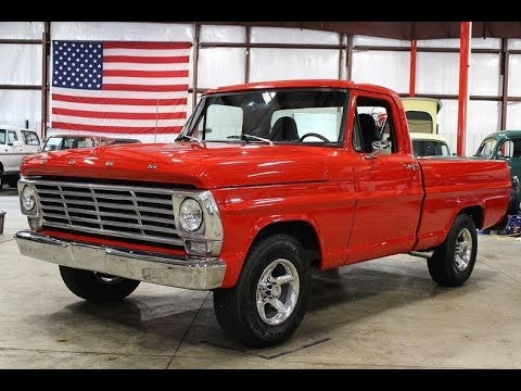 1967 Ford F100 Red