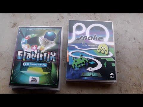 Sprites, Shapes & Co #81: Gravitrix und P0 Snake (C64)