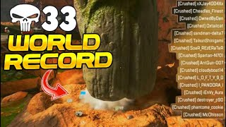 Leviathan Breaks Solo WORLD RECORD! 33 Kills by Crushing.. (Apex Legends)