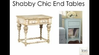 What Kind Of Bedside Table To Use In A Shabby Chic Bedroom? : Bedroom Accents & Redesign