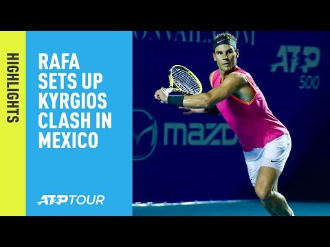 Highlights: Nadal, Zverev, Isner Win Acapulco 2019 Openers