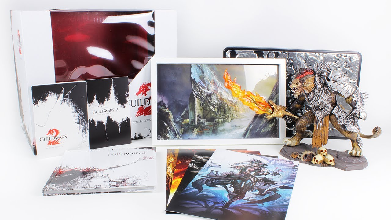 Guild Wars 2 Collector's Edition Unboxing | Unboxholics